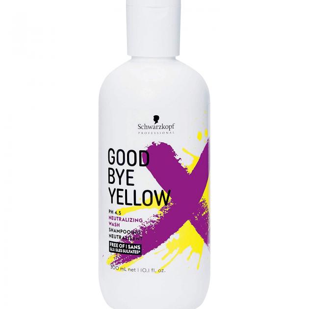 Schwarzkopf Good Bye Yellow – shampooing déjaunissant