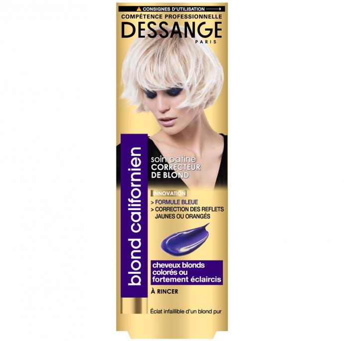 Shampoing bleu Dessange