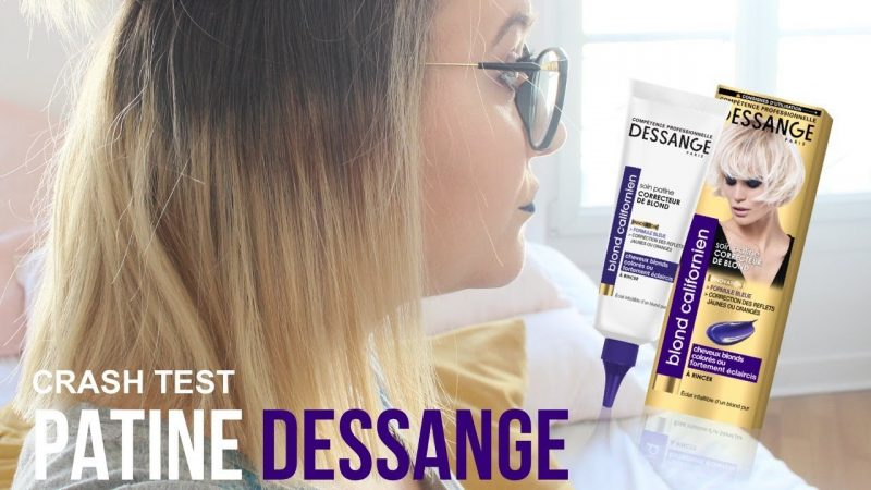 Le shampoing bleu Dessange : Soin patine correcteur de blond 3